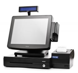 "POS-комплект 15"" KS-7215 c FPrint-22K черный, Windows POSReady 2009"