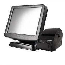 "POS-комплект 15"" KS-6715 c FPrint-02K черный, Windows POSReady 2009"