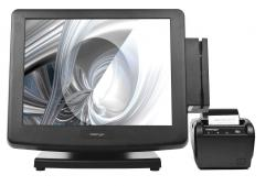 "POS-комплект 15"" KS-7215 c Aura-6900U черный, Windows POSReady 7"