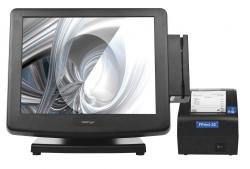 "POS-комплект 15"" KS-7215 c FPrint-22ПТK черный, Windows POSReady 7"