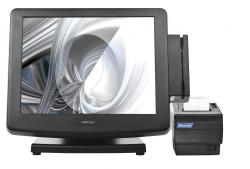 "POS-комплект 15"" KS-7215 c FPrint-5200K черный, Windows POSReady 7"