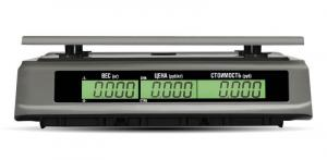 "Торговые весы M-ER 328 AC-32.5 ""TOUCH-M"" LCD, RS+USB"