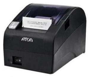 ККТ АТОЛ FPrint-22ПТК без ФН (RS+USB+Ethernet, черный)