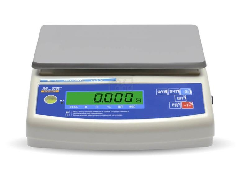 "Лабораторные весы M-ER 122 ACF-3000.1 ""ACCURATE"" LCD"